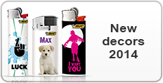 New decors lighters 2014